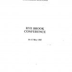 BilderbergConferenceReport1985