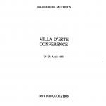 BilderbergConferenceReport1987