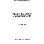 BilderbergConferenceReport1988