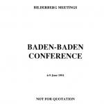 BilderbergConferenceReport1991