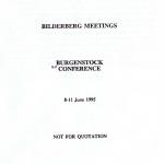 BilderbergConferenceReport1995