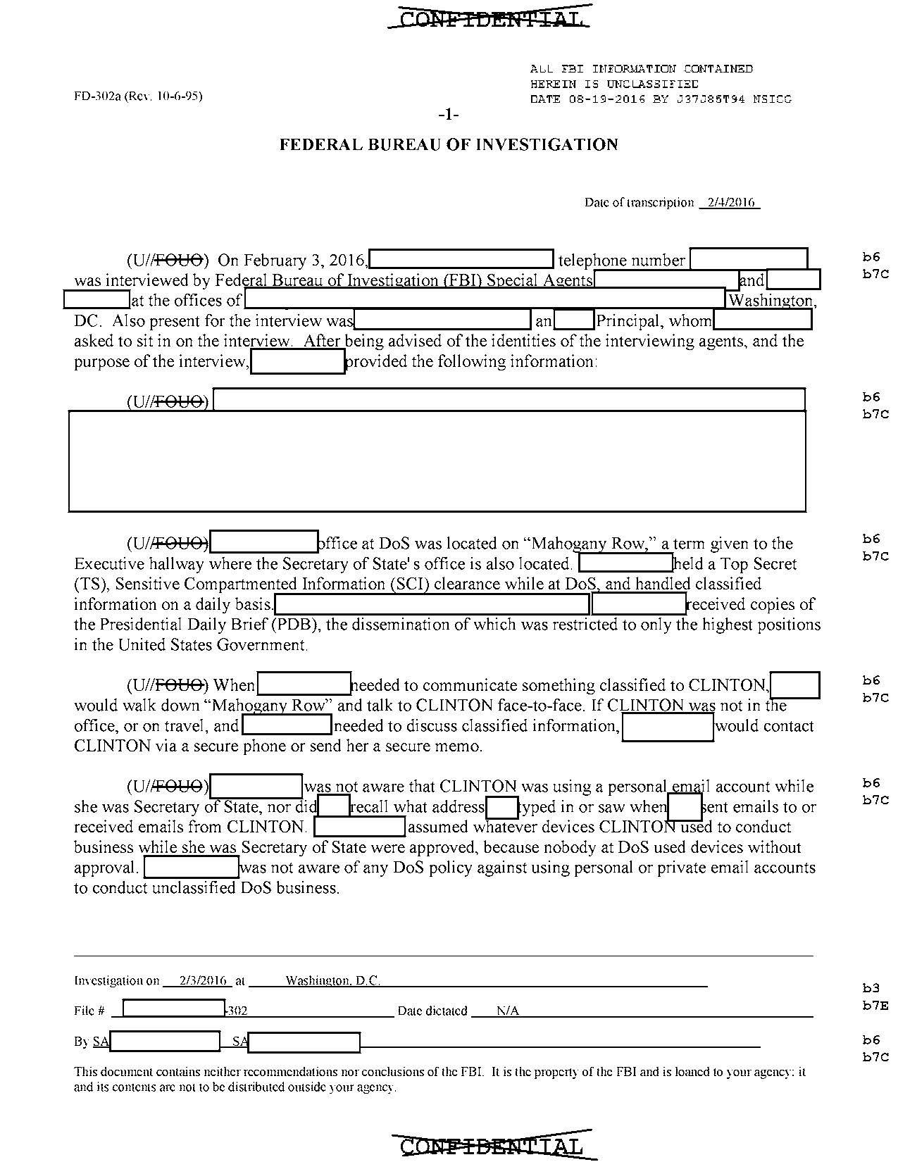 FBI releases Hillary Clinton email report
