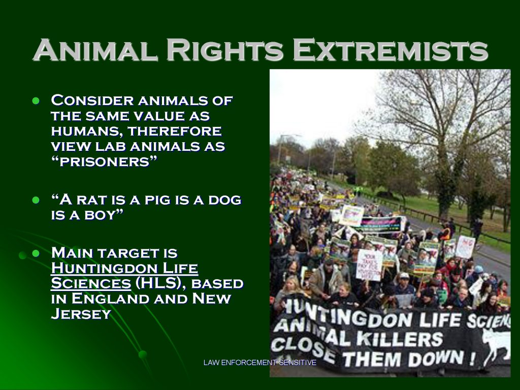 consideration of animal rights